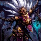 Witch Doctor Diablo 3 Art 32x24 Print Poster
