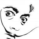 Salvador Dali Portrait Art Surrealism 32x24 Print Poster