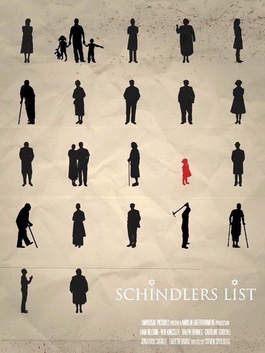 Schindler S List Movie Art Steven Spielberg 32x24 Print Poster