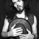 Russell Brand Hot Actor Singer BW 32x24 Print Poster