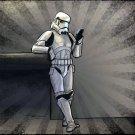 Stormtrooper Cool Art Star Wars 32x24 Print Poster