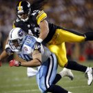 Troy Polamalu Pittsburgh Steelers Sport 32x24 Print Poster