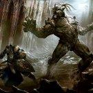 Undead Warrior Knight Monster Fantasy Art 32x24 Print Poster