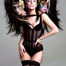 Lady Gaga 3 Heads Hot Singer Music 16x12 Print POSTER
