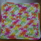 100% Cotton Crochet Dishcloth Lazy Daisy