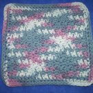 100% Cotton Crochet Dishcloth Winterberry