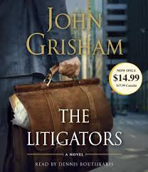 John Grisham The Litigators on CD - FREE Shipping