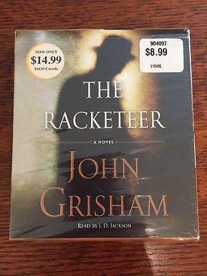 John Grisham The Racketeer on CD - FREE Shipping