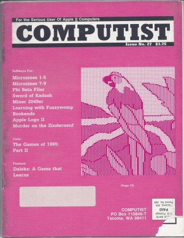 Hardcore Computist Magazine, Issue 27, for Apple II II+ IIe IIc IIgs