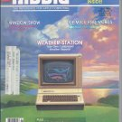 Nibble Magazine, July 1986, for Apple II II+ IIe IIc IIgs