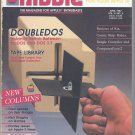 Nibble Magazine, April 1987, for Apple II II+ IIe IIc IIgs