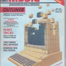 Nibble Magazine, May 1987, Back Cover Torn, for Apple II II+ IIe IIc IIgs