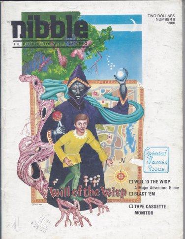 Nibble Magazine, Volume 1 Number 8, for Apple II II+ IIe IIc IIgs