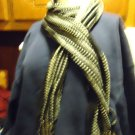 BLACK/WHITE/SILVER  DESIGN MIXED SOFT COTTON LADIES  SCARF NICE...SO BRIGHT.