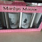 MARILYN MONROE HI BALL GLASS NIB SET OF 4.....NEW IN BOX
