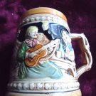 "VINTAGE ENTERTAINMENT CLASSIC STEIN/MUG...HAND PAINTED-JAPAN..APPROX 5 1/2"" TALL"