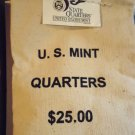 2000-D Maryland $25 Face State Quarter Canvas Sealed US Mint Issued Bag