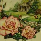"HANDEL"" BOEHM ROYAL NATIONAL ROSE SOCIETY DECORATIVE PLATE  10 3/4"