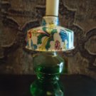 VINTAGE LANDER NOVELTY WITH COLORFUL SHADE PERFUME BOTTLE WITH TAG