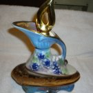 VINTAGE GOLD WITH GRAPES 1977 JIM BEAM REGAL CHINA LIQUOR DECANTER...DETAILED