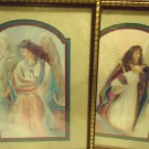 PAIR OF BETTIE HERBERT FELDER 'THRU GOD'S GRACE' FRAMED ANGEL PICTURES