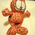 TOY FACTORY GARFIELD  PINK CANDY CANES/PEPPERMINT PLUSH...APPROX 14""
