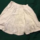 Adorable Cherokee Kids White Skirt Girls Size S6-6X