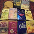 NORA ROBERTS PAPERBACK BOOKS......LOT OF 10