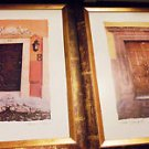 SET OF BEAUTIFULLY FRAMED ART BY MAUREEN LOVE...11X14..GRAND OPENINGS III & V