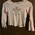 Pink Beautiful Girls size 7 8 shirts Faded Glory Girls Club super cute