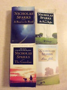 FOUR BOOK LOT.... NICHOLAS SPARKS PB BOOKS....GREAT READING