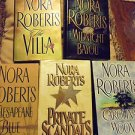 LOT OF 5 NORA ROBERTS BOOKS....HARDCOVER....
