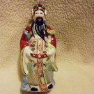 BEAUTIFULLY DETAILED CHINESE FIGURINE BY ANDREA SADAK/PORCELAIN... APPROX 7""