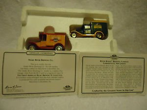 BY MATCHBOOK.....SNAKE RIVER/RIVER HORSE BREWERY SET 2 CARS W/CERT AUTH.