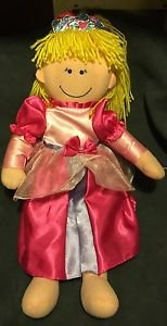 Plush BIG SISTER Doll Adorable Originals Blonde Princess