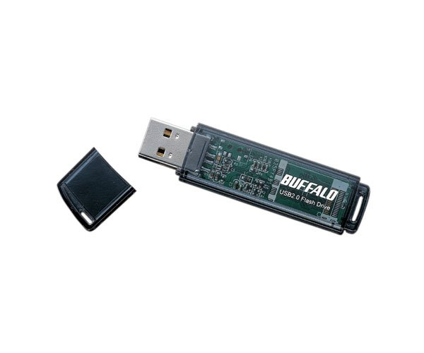 Buffalo 2GB Flash Drive Type E Series in Black Colour (*Free Registered Airmail Shipment)