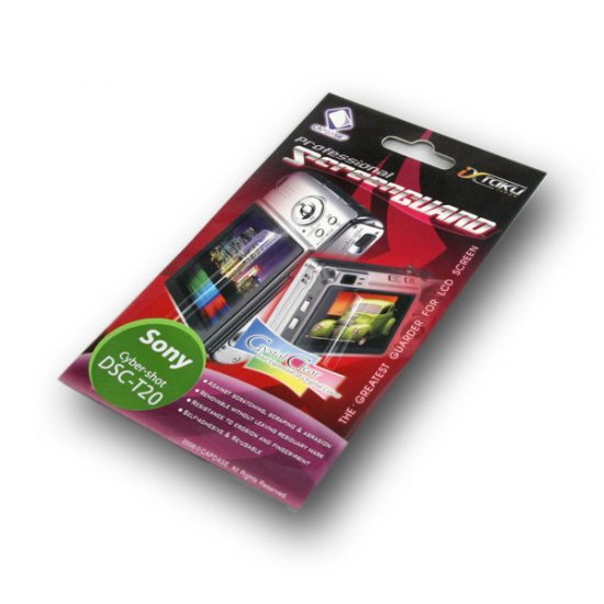 Capdase Screen Guard Protector for Sony Cybershot DSC T20 (*Free Registered Airmail Shipment today)