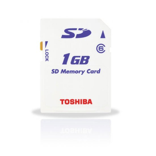 Toshiba 1GB SD Card 6MB/s Ultra High Speed (#SD01)