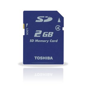 Toshiba 2GB SD Card 4MB/Sec High Speed (#SD05)