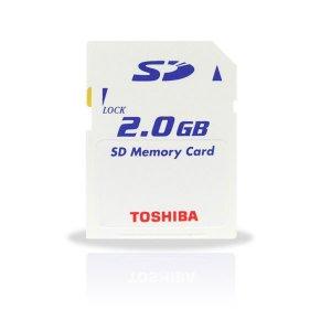 Toshiba 2GB SD Card 6MB/S Ultra High Speed (#SD02)