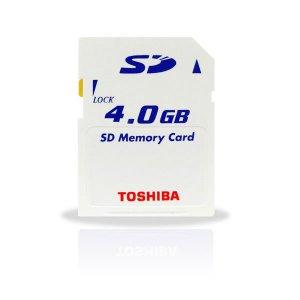 Toshiba 4GB SD Card 6MB/S Ultra High Speed (#SD03)