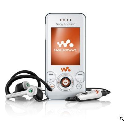 Sony Ericsson W580i (Style White) Mobile Phone (Sim Free / Unlocked)