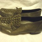 NICE MEN'S LEATHER  SHOES, LOAFER/SLIP ON SIZE 7 1/2...SO SOFT & COMFORTABLE