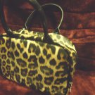 HSN LEOPARD PRINT MAKE UP BAG/CASE WITH HANDLES....SMALL BAGS INSIDE WITH VELCRO