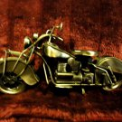 "VINTAGE STYLE MOTORCYCLE... NICE METALLIC FINISH...11"" LONG-6"" TALL..UNIQUE"