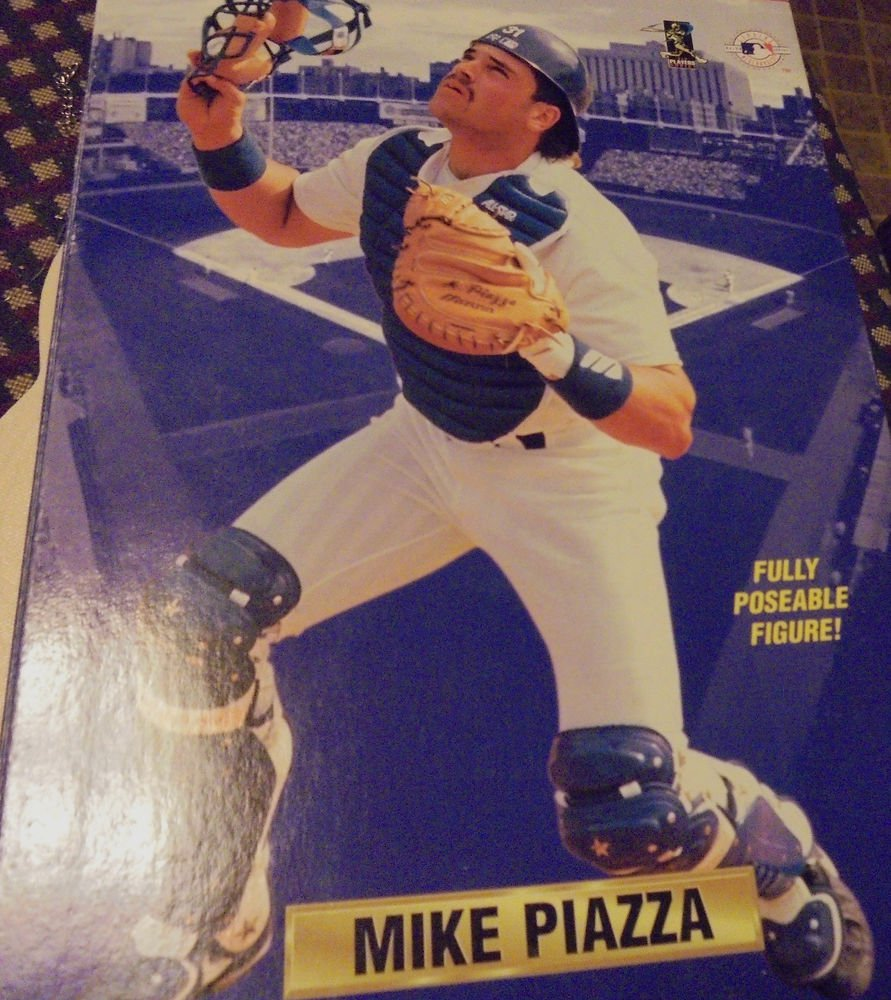 """MIKE PIAZZA...NEW IN BOX...12"""" STARTING LINEUP FIGURE...1996...HARD TO FIND"""