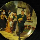 """1984 GRIMMS FAIRY TALES """"THE GOLDEN GOOSE"""" GERMAN COLLECTOR PLATE/5TH/BOX/COA"""