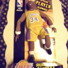 SHAQUILLE O'NEAL-LAKERS..OFFICIAL PLAYER BEANBAG...NEW..NEVER OPENED