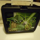 """YODA"" STAR WARS THERMOS BRAND HARD PLASTIC LUNCH BOX WITH THERMOS...."