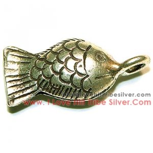 5 Thai Small Fish Charms By I Love Hill Tribe Silver